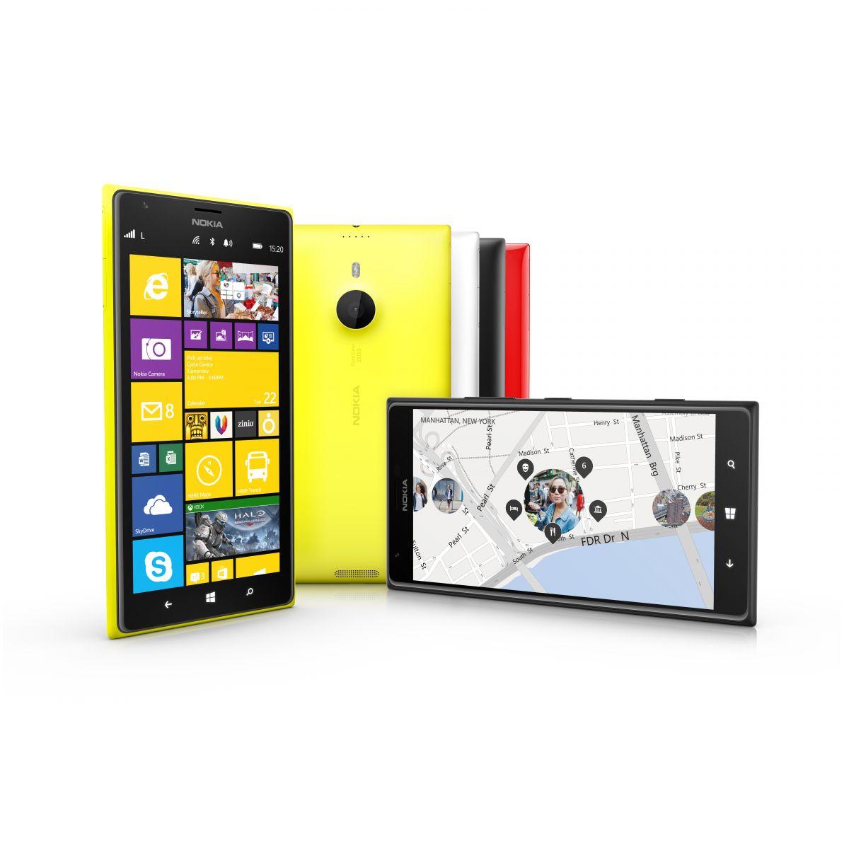 Hopper Nokia på mini-vognen – Lumia 1520 V