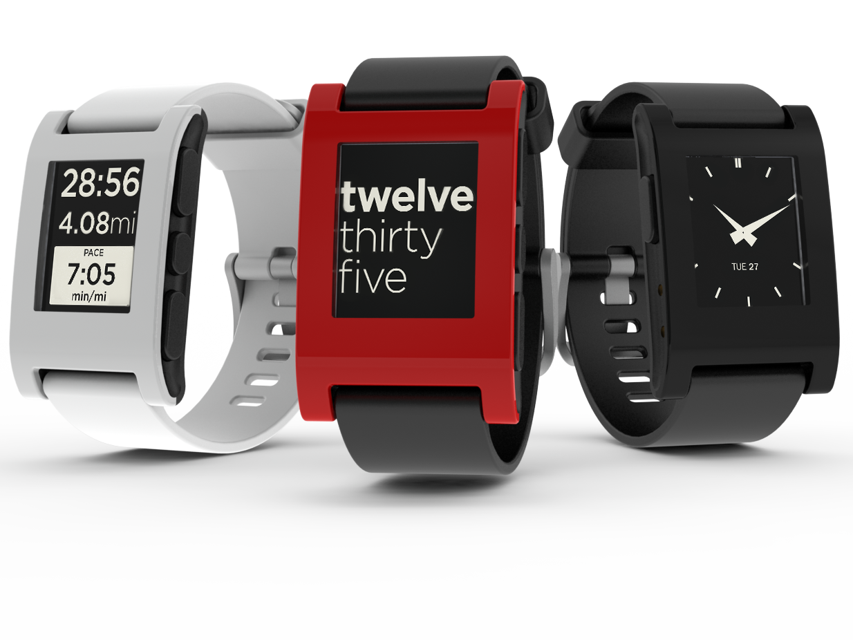 Pebble smartwatch nu hos Amazon.com