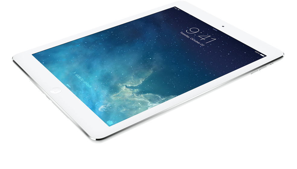 Test af iPad Air