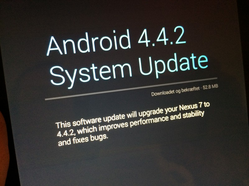 Android 4.4.2: ny update – igen
