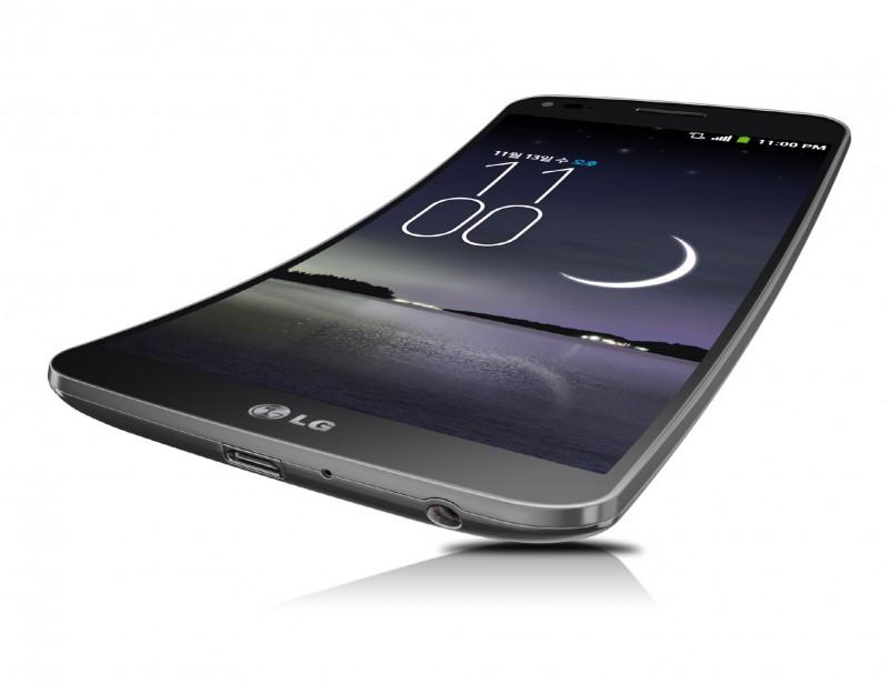 LG G Flex kommer til Danmark