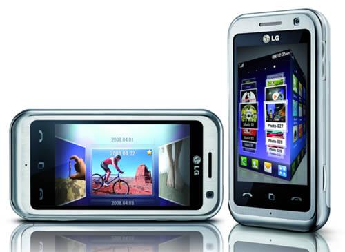 Ny Touchscreen mobil fra LG på vej