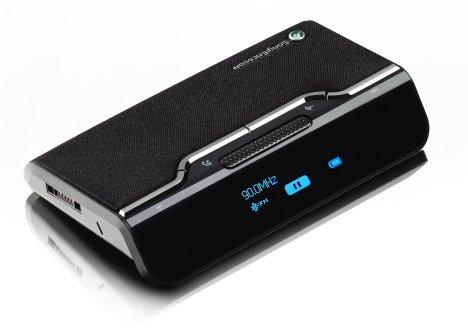 Trådløs højtalertelefon til bilen fra Sony Ericsson