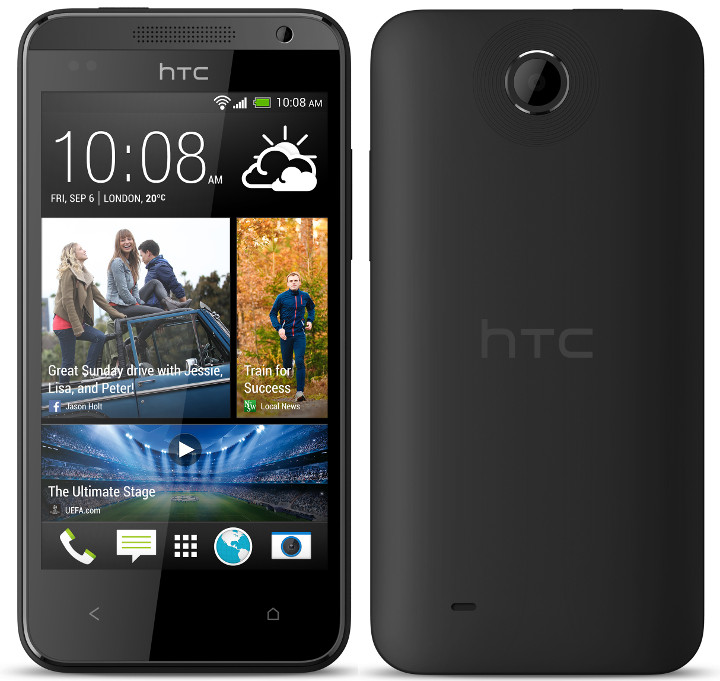 Ny 4-kernet low-end HTC Smartphone dukket op
