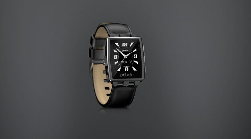 Billedgalleri af Pebble Steel Smartwatch