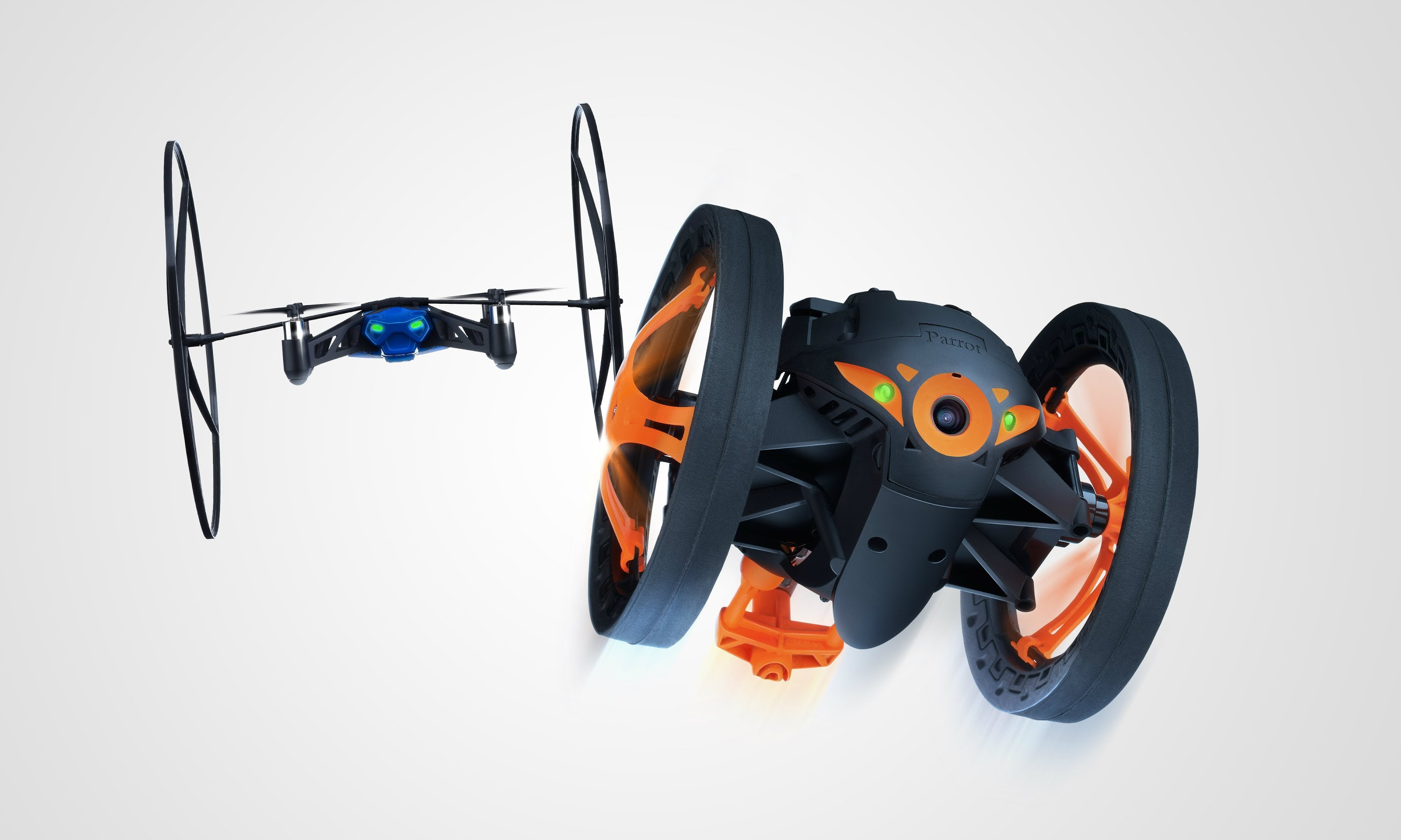Video af Parrot MiniDrone & Jumping Sumo