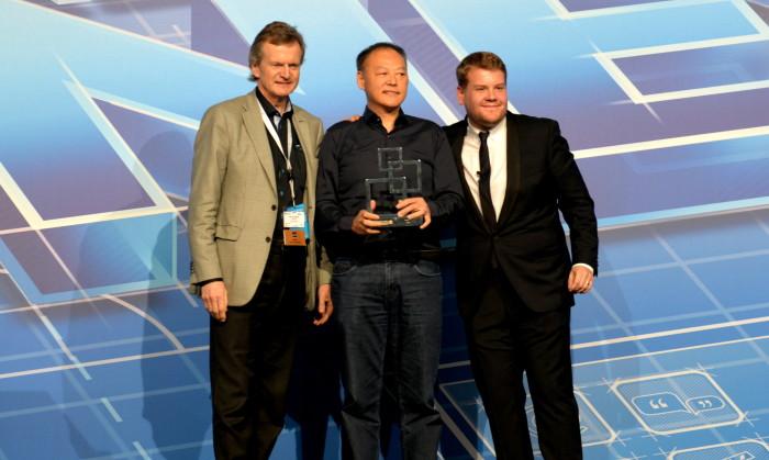 MWC 2014 Global Mobile Award til HTC One