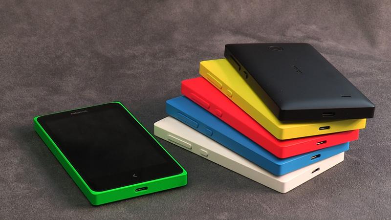 Billedegalleri med de nye Nokia X-modeller