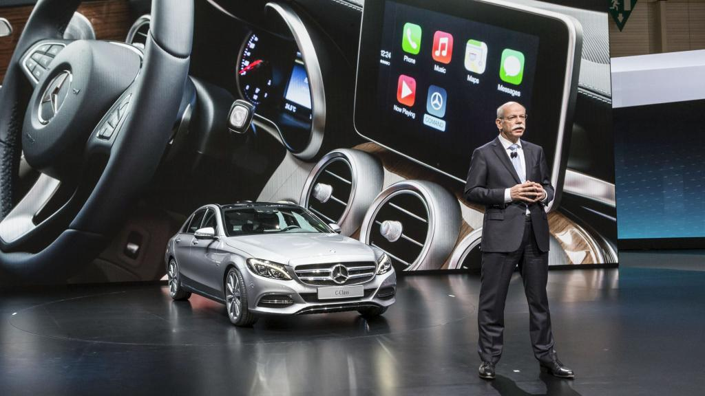 Billedgalleri af Apple CarPlay hos Mercedes