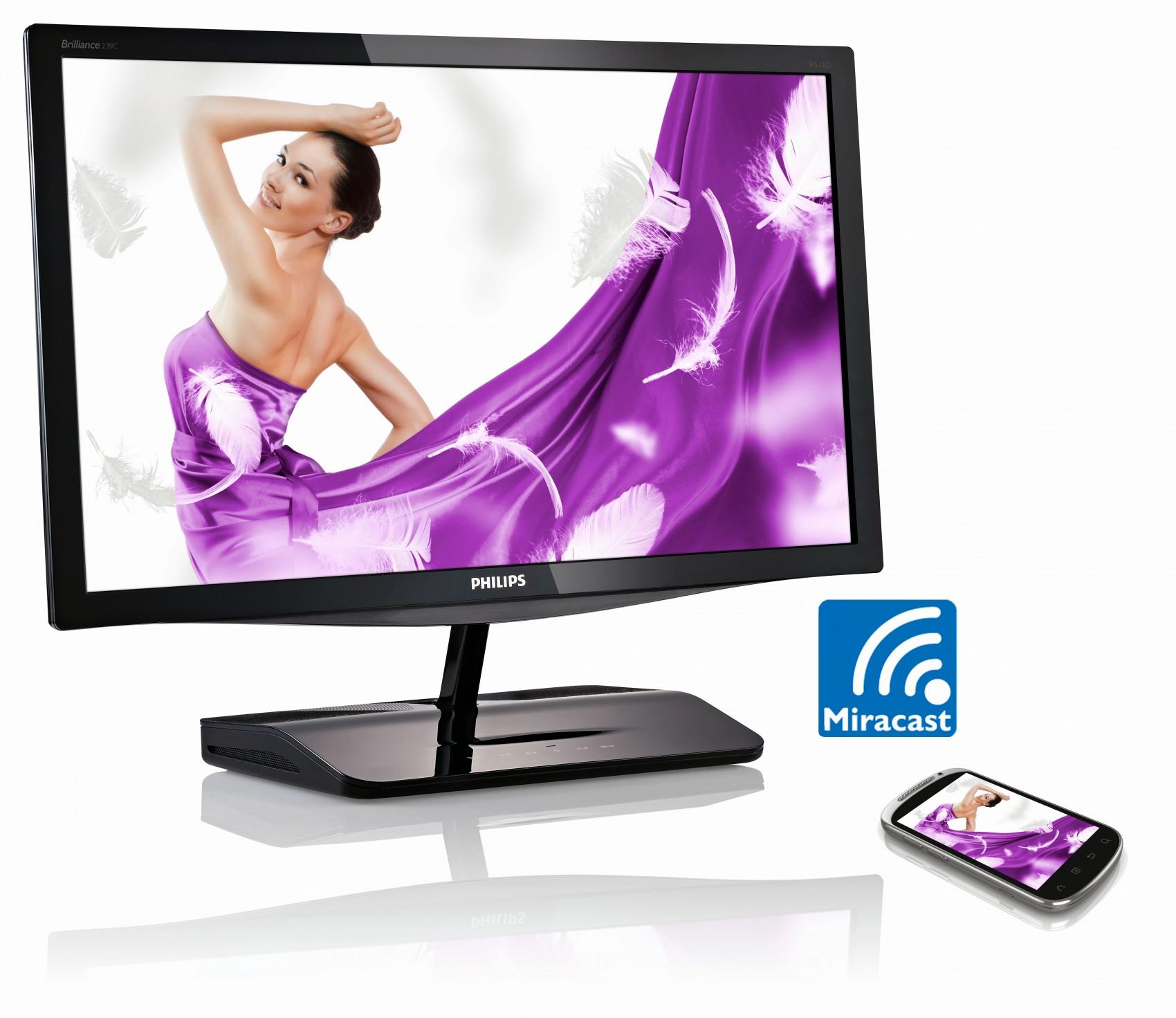Stream dit indhold fra en Android mobil eller tablet på en monitor