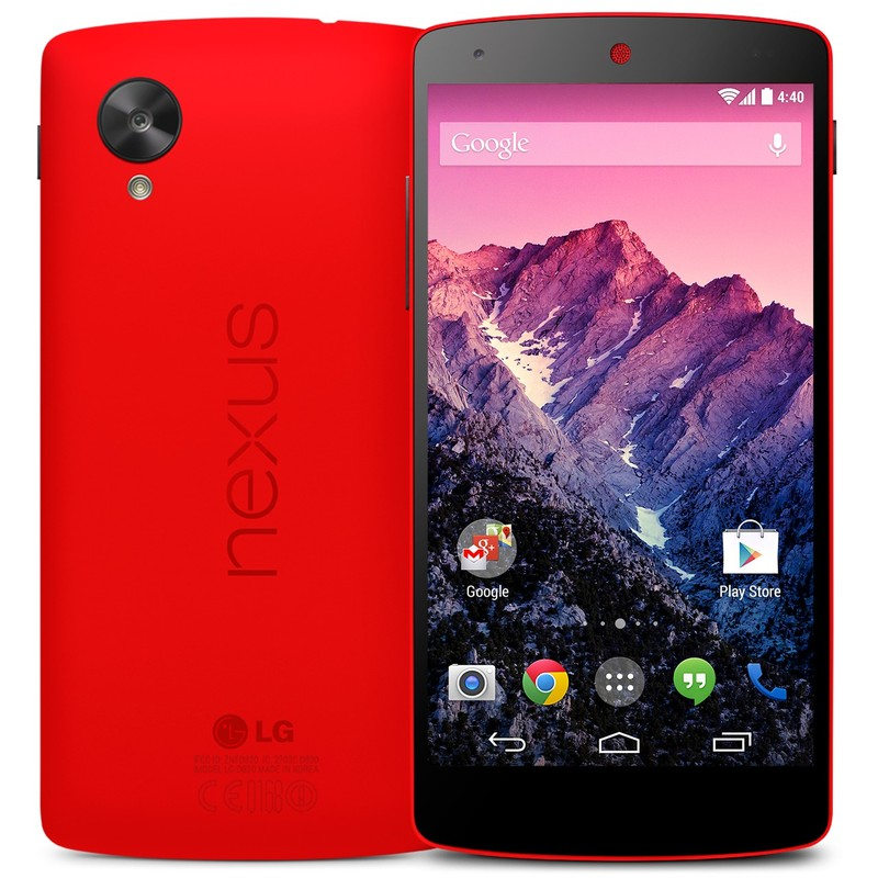 Nexus 5 i rød