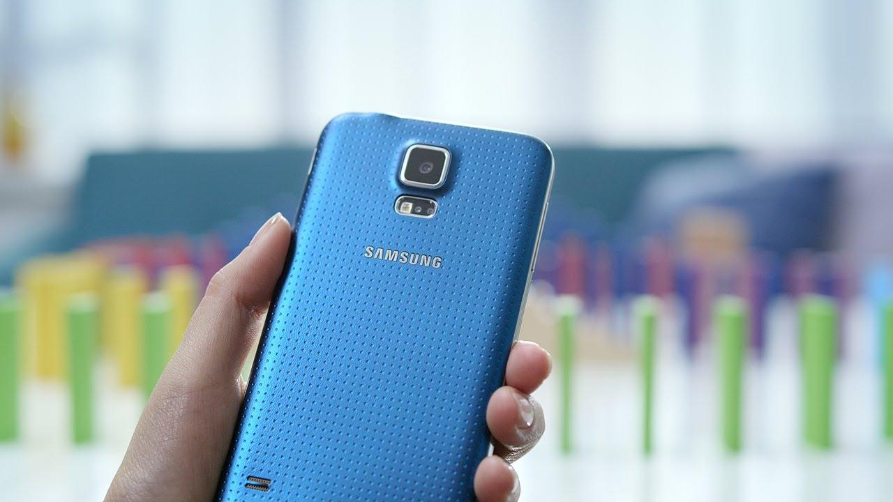 Hands-on video af den nye Samsung Galaxy S5
