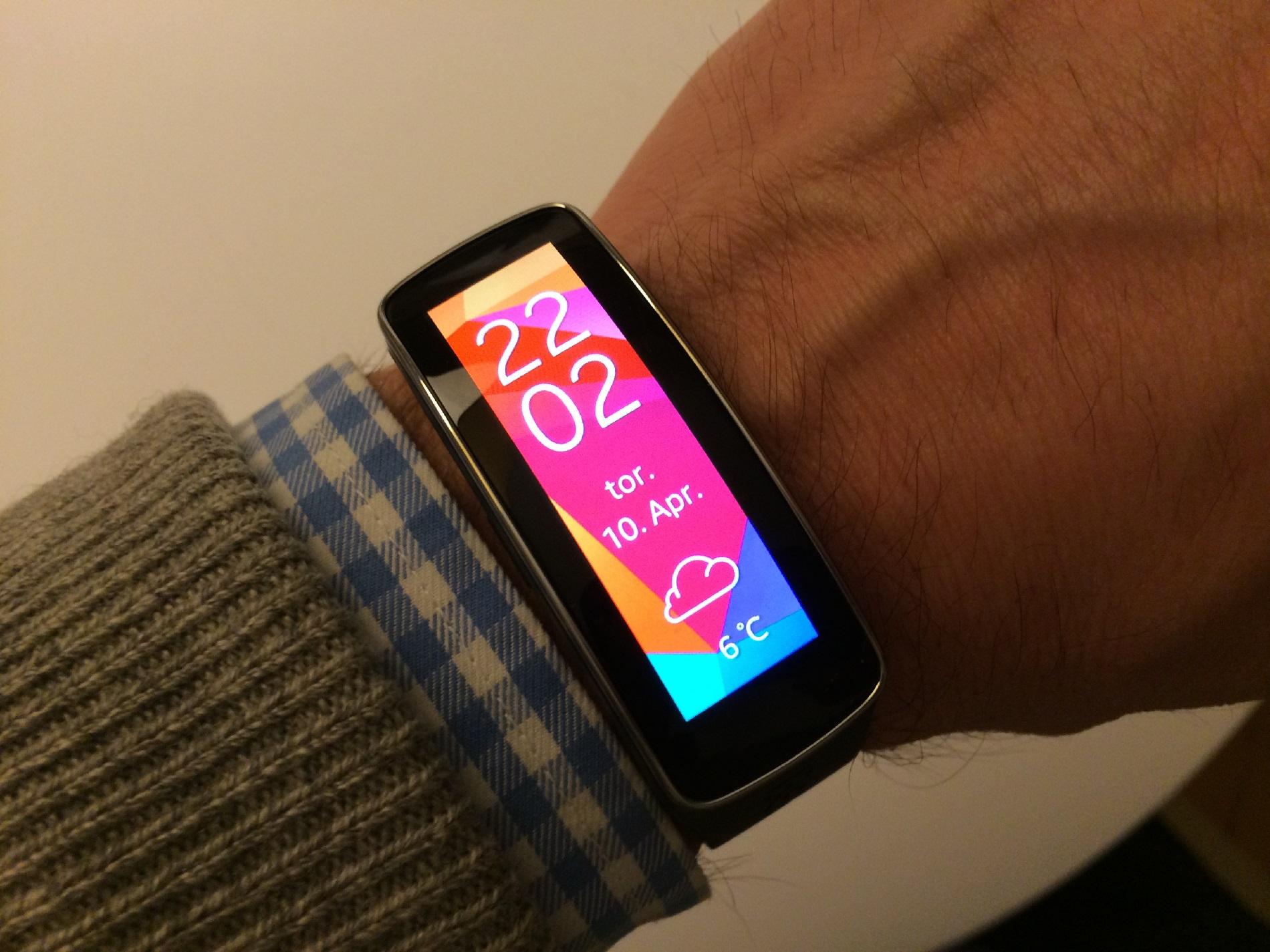 Test af Samsung Gear Fit