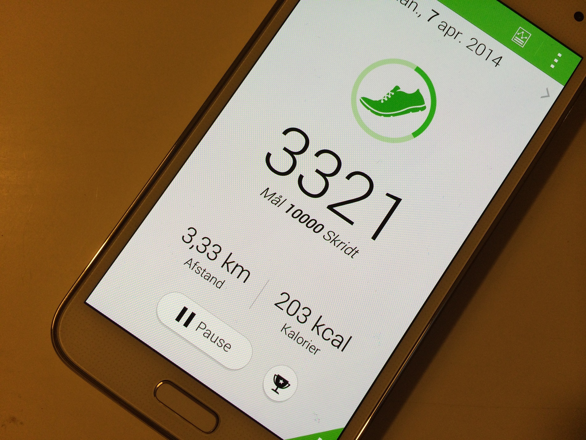 Testen af Samsung Galaxy S5 er gået i gang