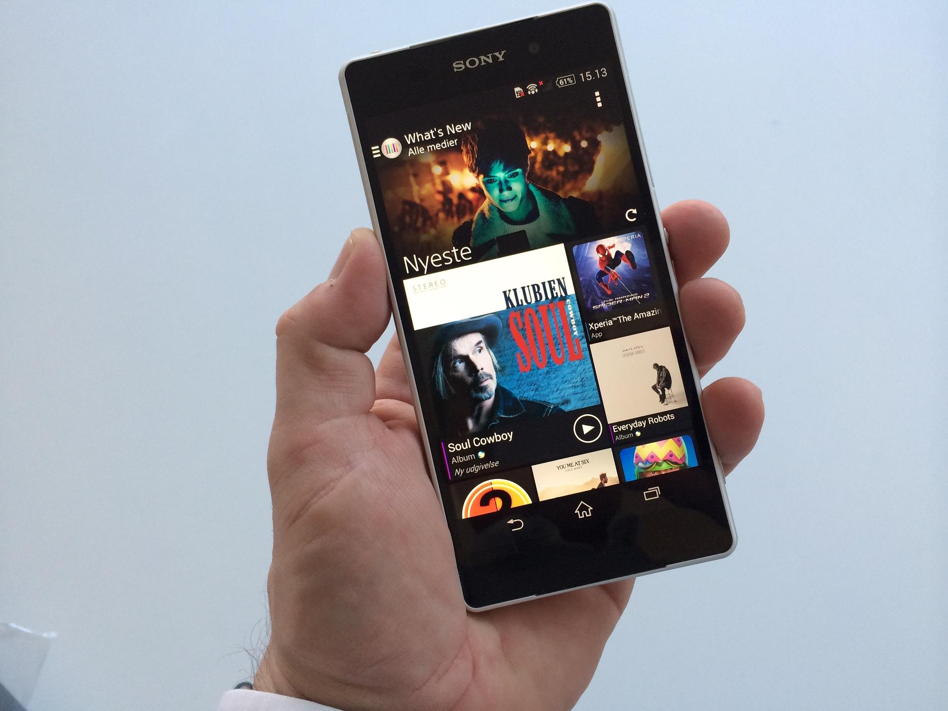 Test af Sony Xperia Z2