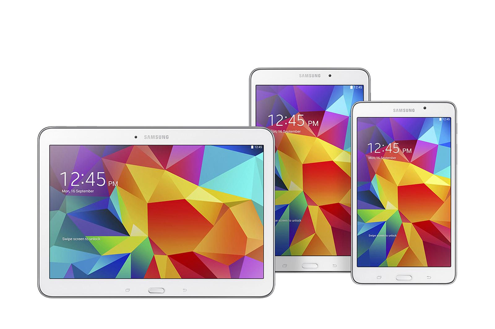 Samsung Galaxy Tab 4 familien – med danske priser