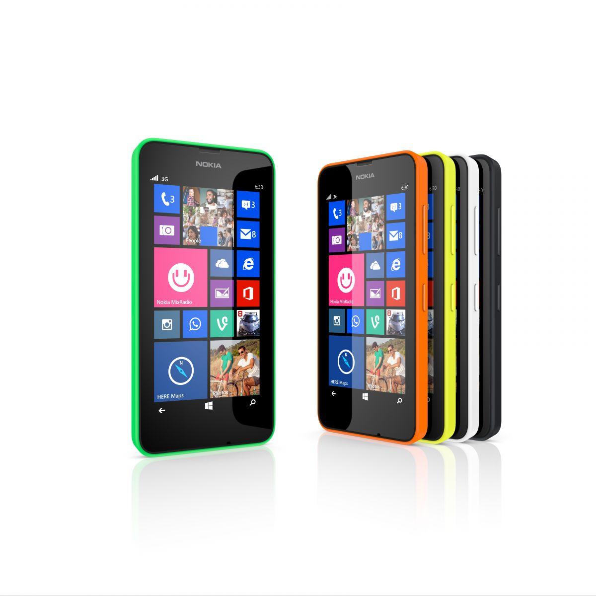 Nu er Nokia Lumia 630 landet i Danmark