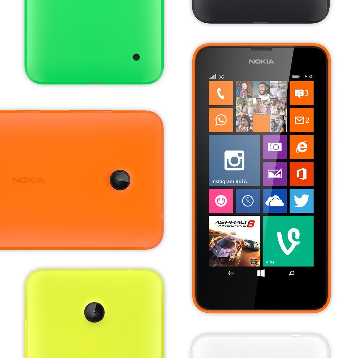 Billedgalleri af Nokia Lumia 630