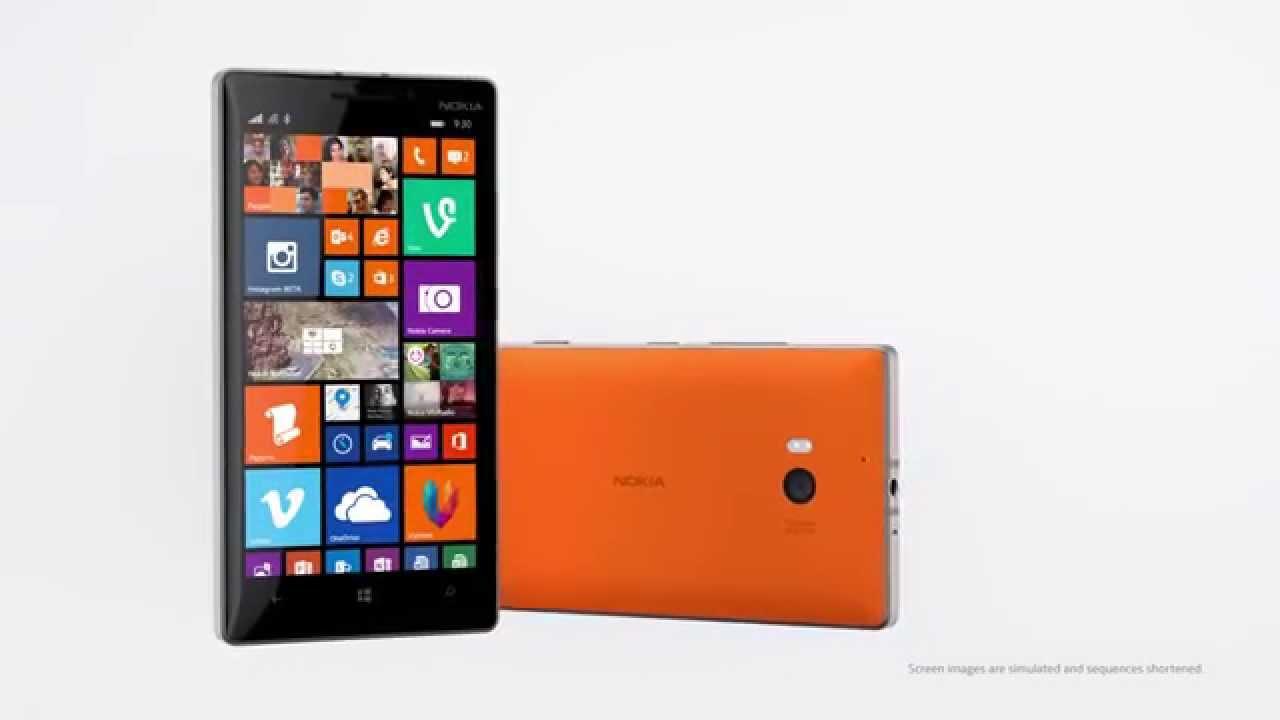 Video af den nye Nokia Lumia 930