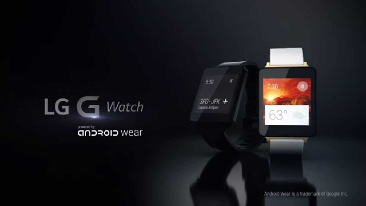 Ny video af LG G Watch