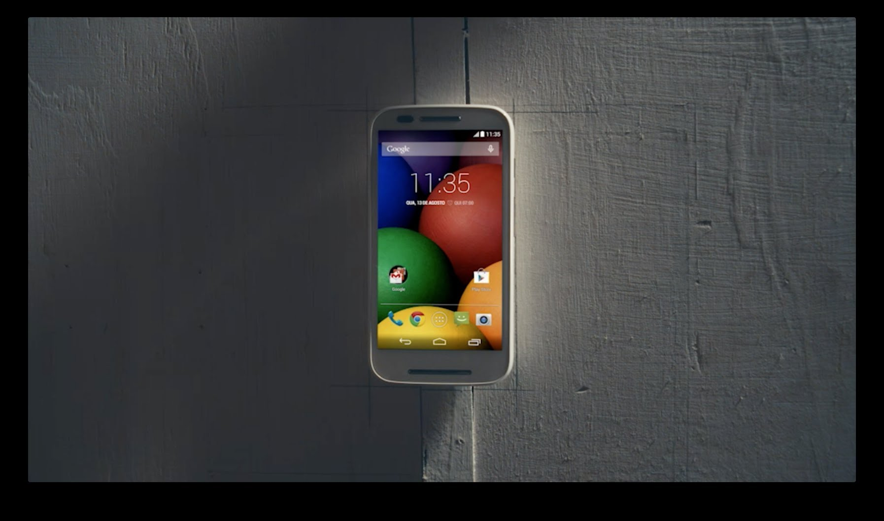 Video af den nye Moto E