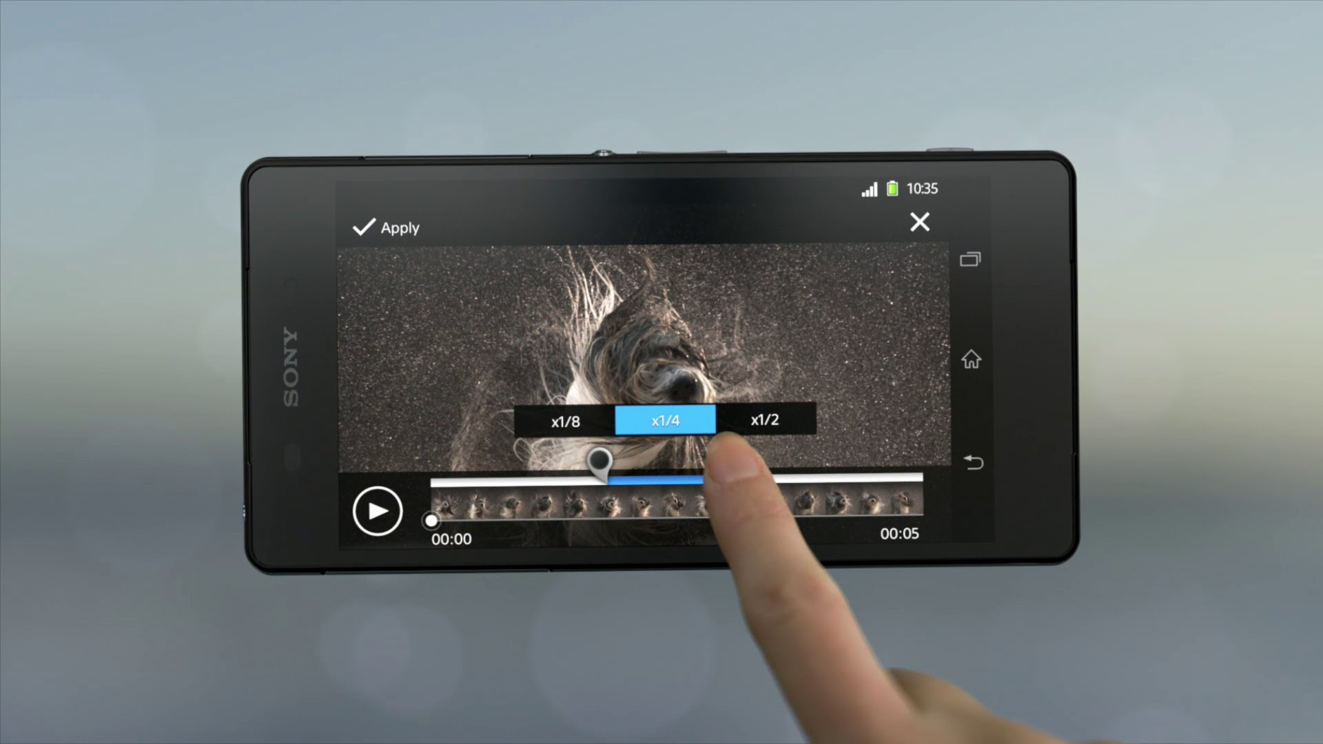 Video af Xperia Z2 Movie Creator