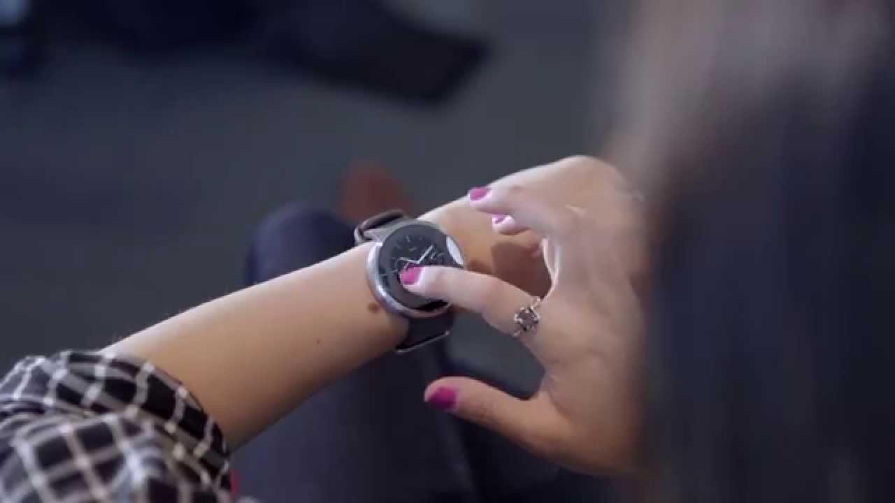 Se mere af den nye Motorola Moto 360