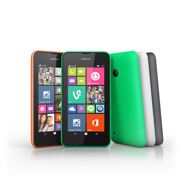 Lumia 530 klar hos de danske forhandlere i dag