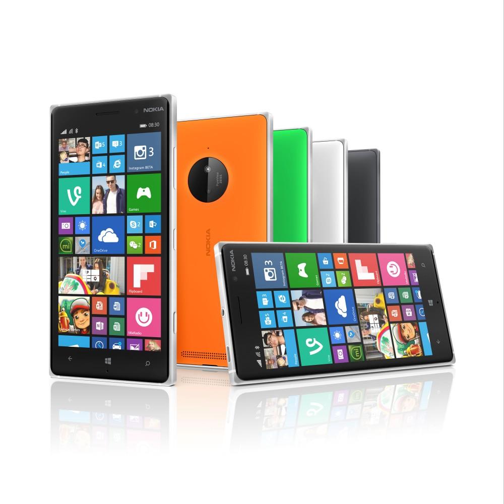 Microsoft Lumia 830, 730 og 735