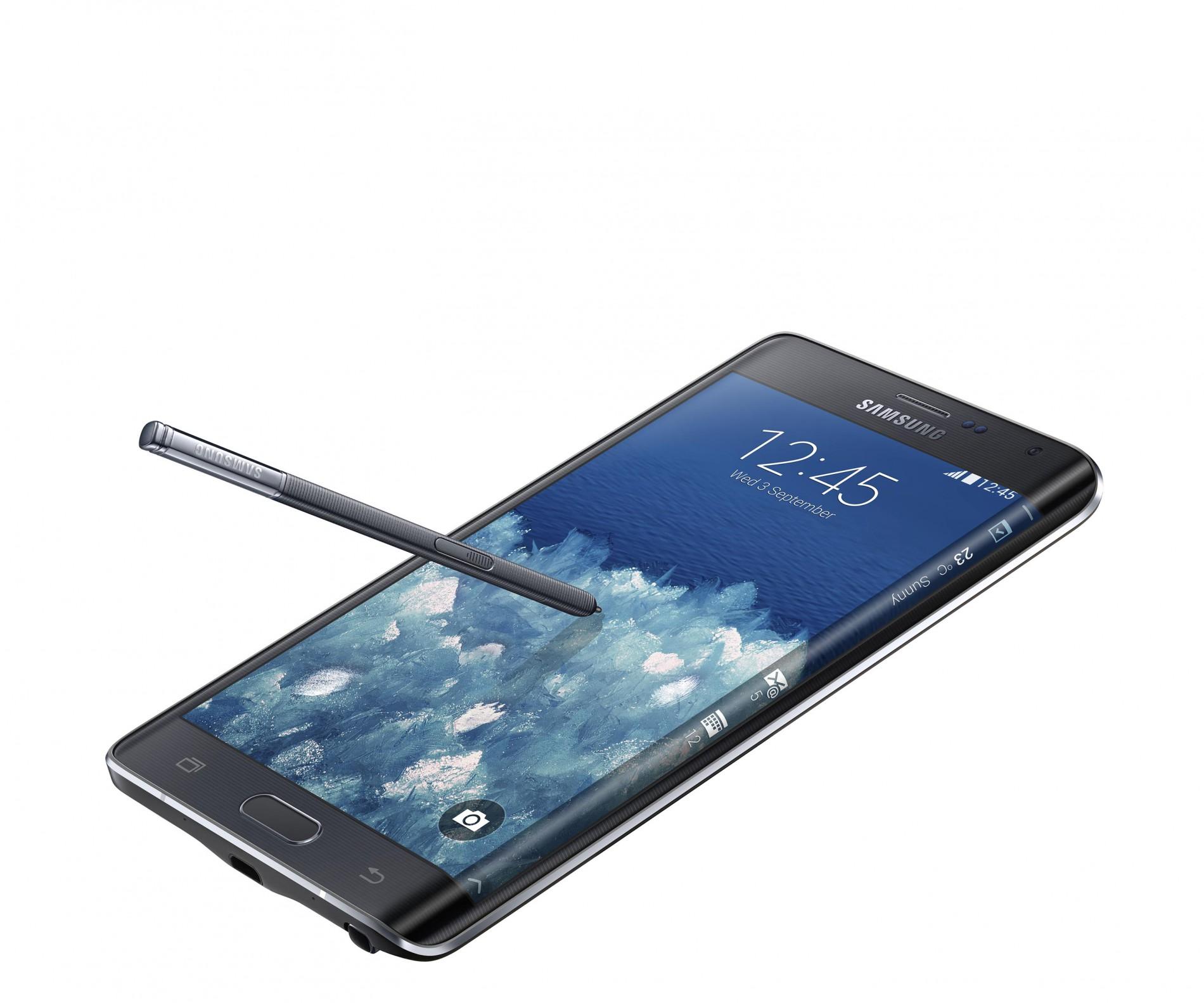 Galaxy Note Edge på vej til Danmark