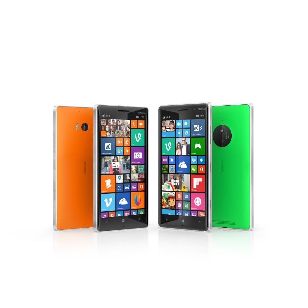 Lumia 830 og 735 klar på det danske marked