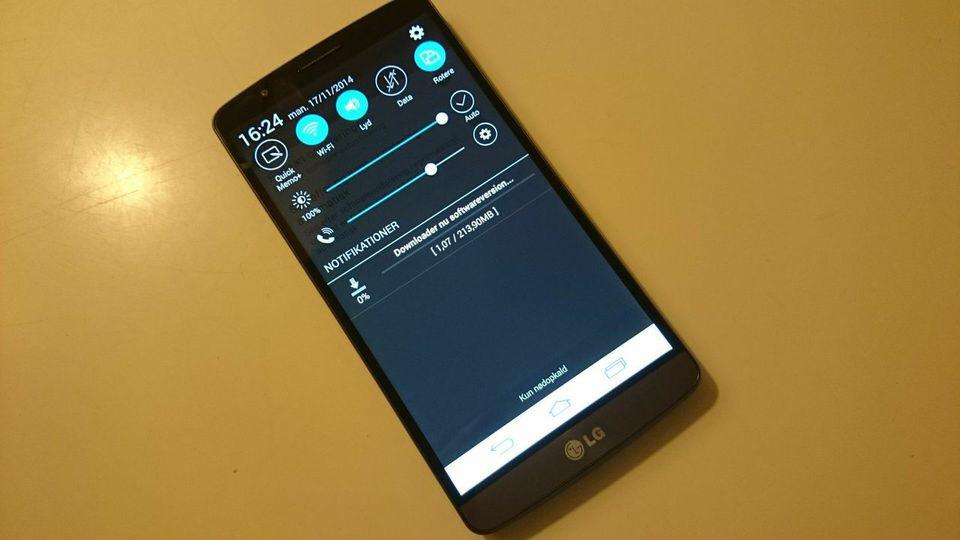LG G3 klar til Android 5.0