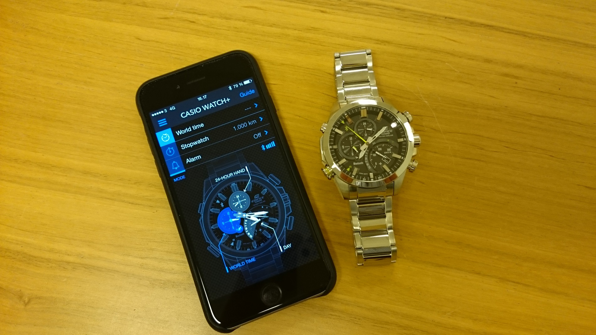 Test Smartwatch Casio Edifice EQB-500