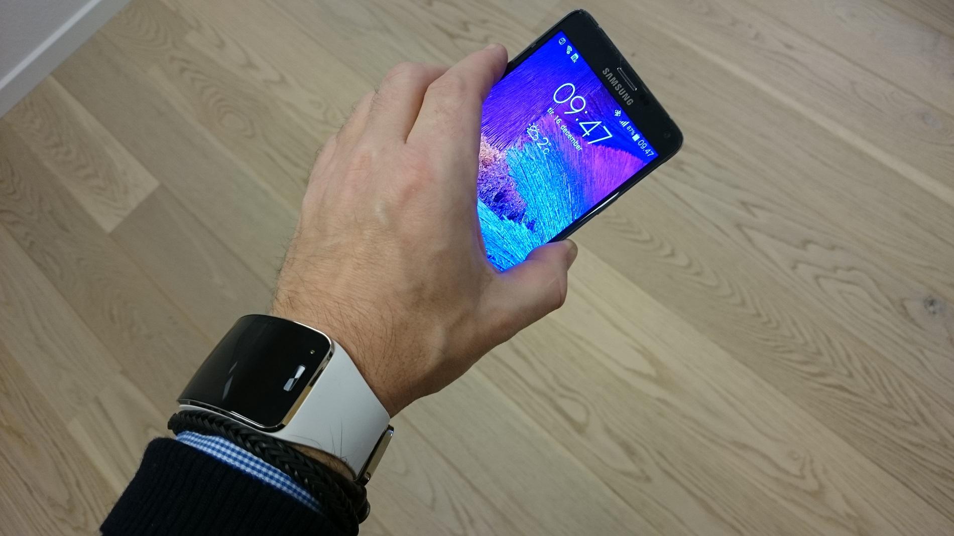 Test af Samsung Note 4