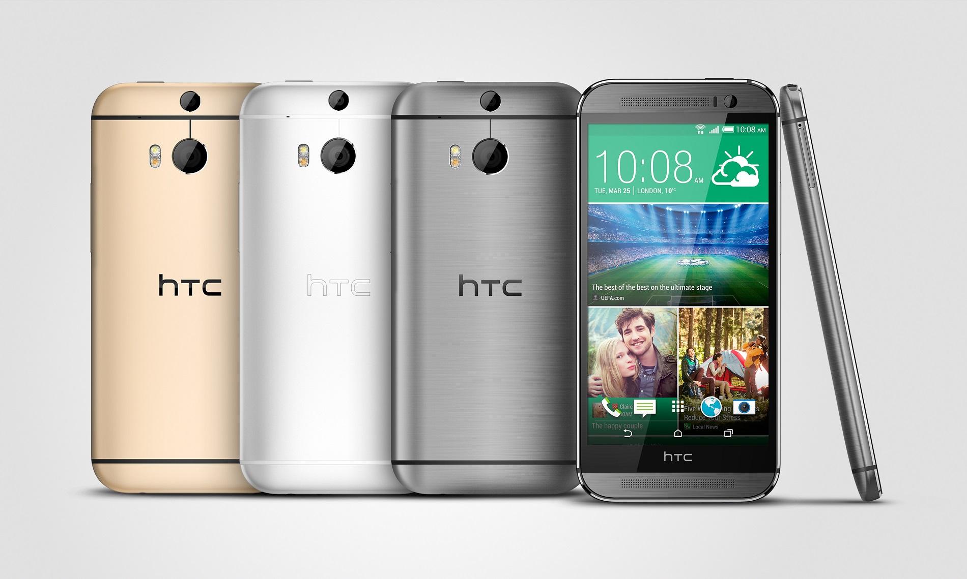 Ny får den nyeste HTC One det nyeste styresystem