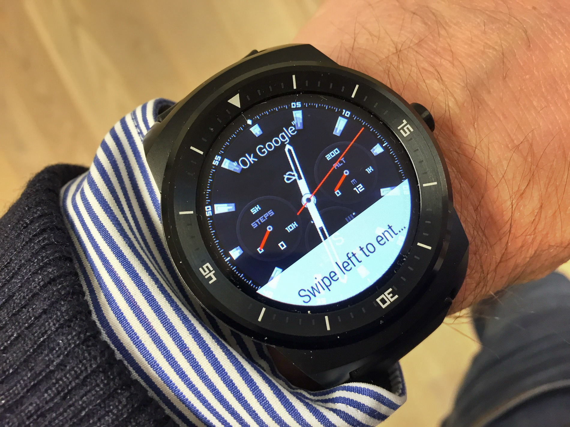 Test af LG G Watch R