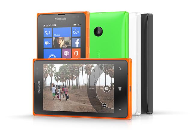 Microsoft Lumia 435 og Lumia 532