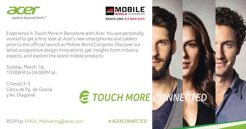 Ny tablets og Smartphones fra Acer