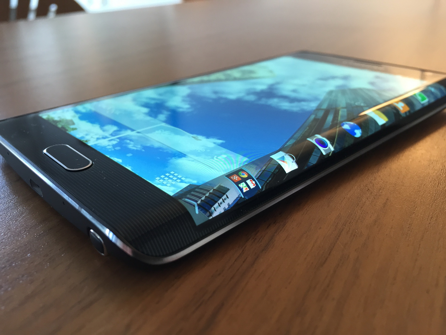 Test af Samsung Galaxy Note Edge