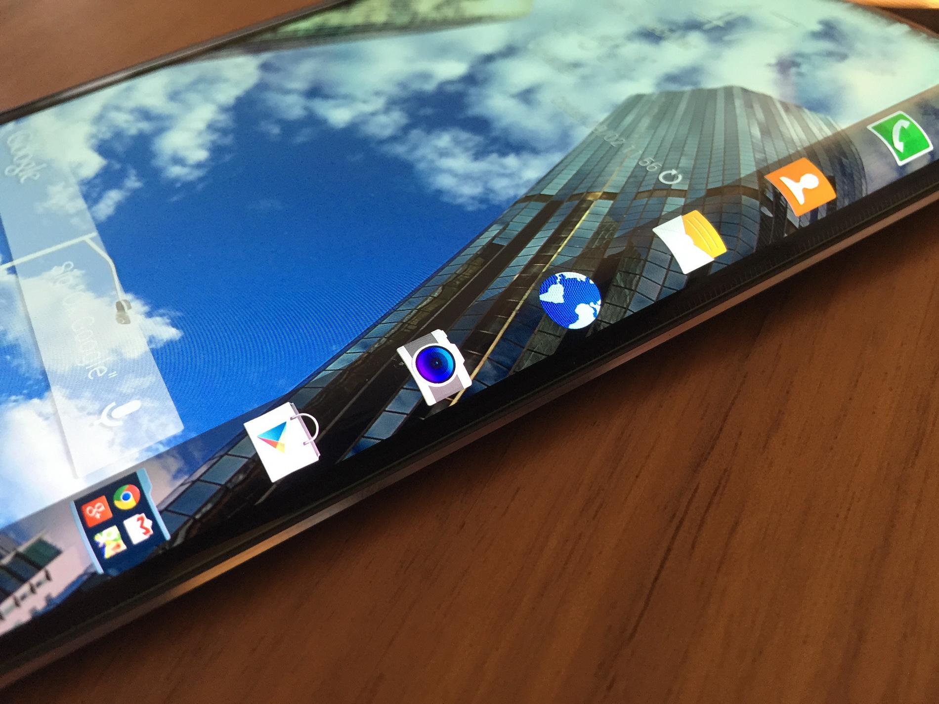 Samsung Galaxy Note Edge er landet på redaktionen