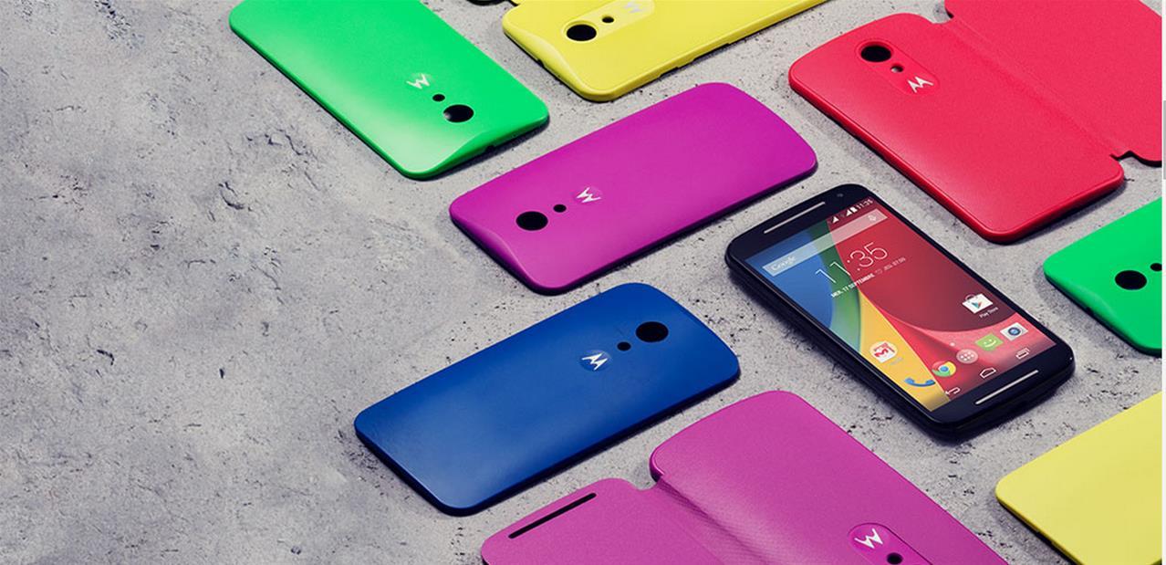 Motorola Moto G med 4G og 5-tommers skærm