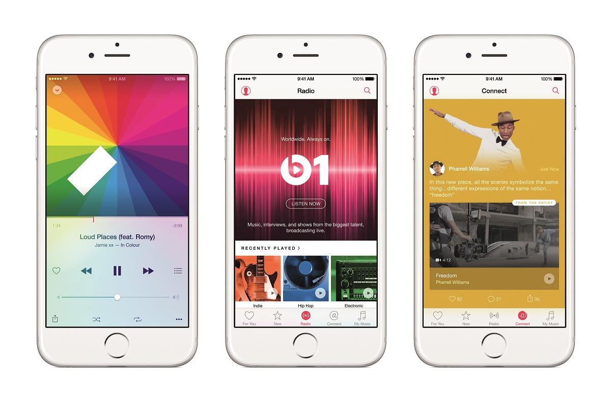 Nu kommer Apple Music
