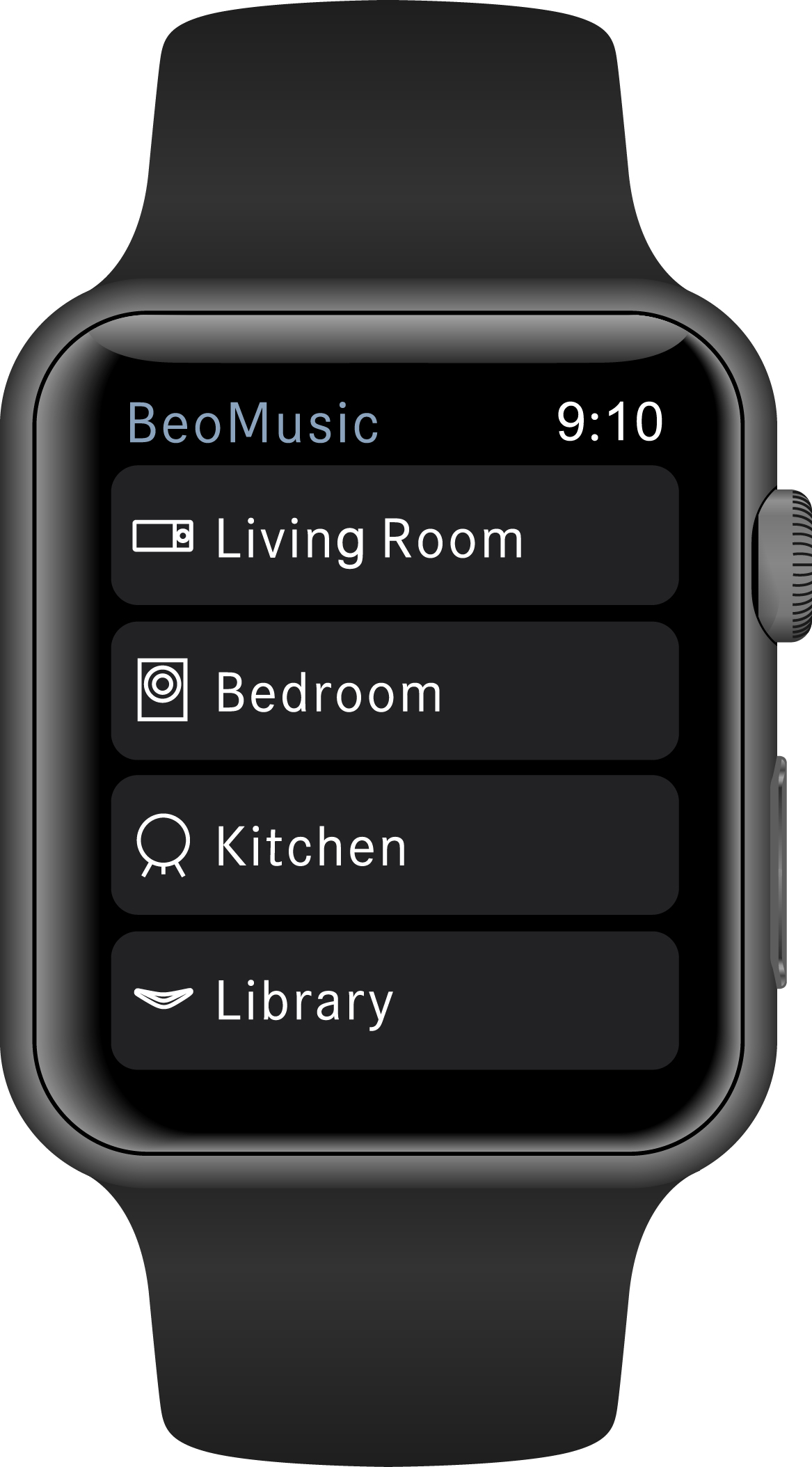 Bang & Olufsen BeoMusic App er klar til Apple Watch