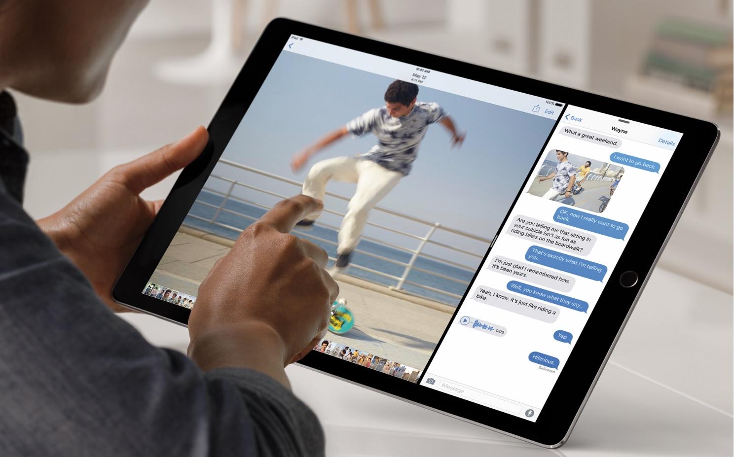 iPad Pro kan bestilles online fra på onsdag og købes i butikkerne senere på uge