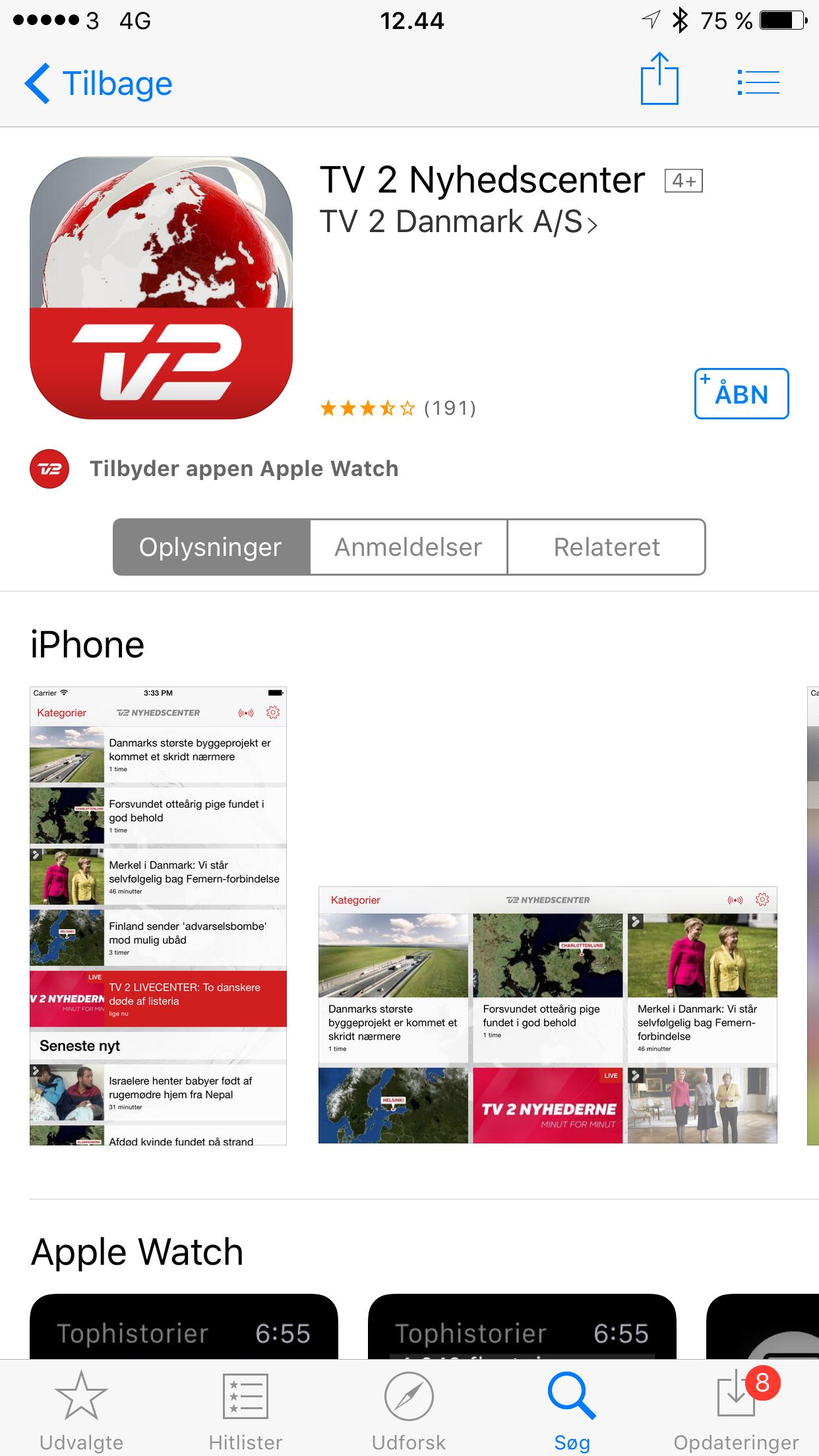 TV 2s apps runder 1 milliard besøg