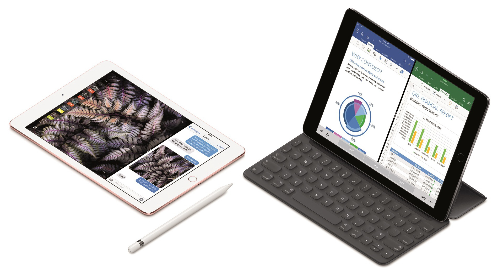 Apple præsenterer 9,7″ iPad Pro