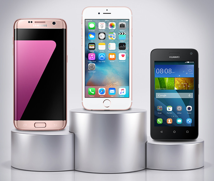 Telia Top 10: De mest solgte mobiler i maj