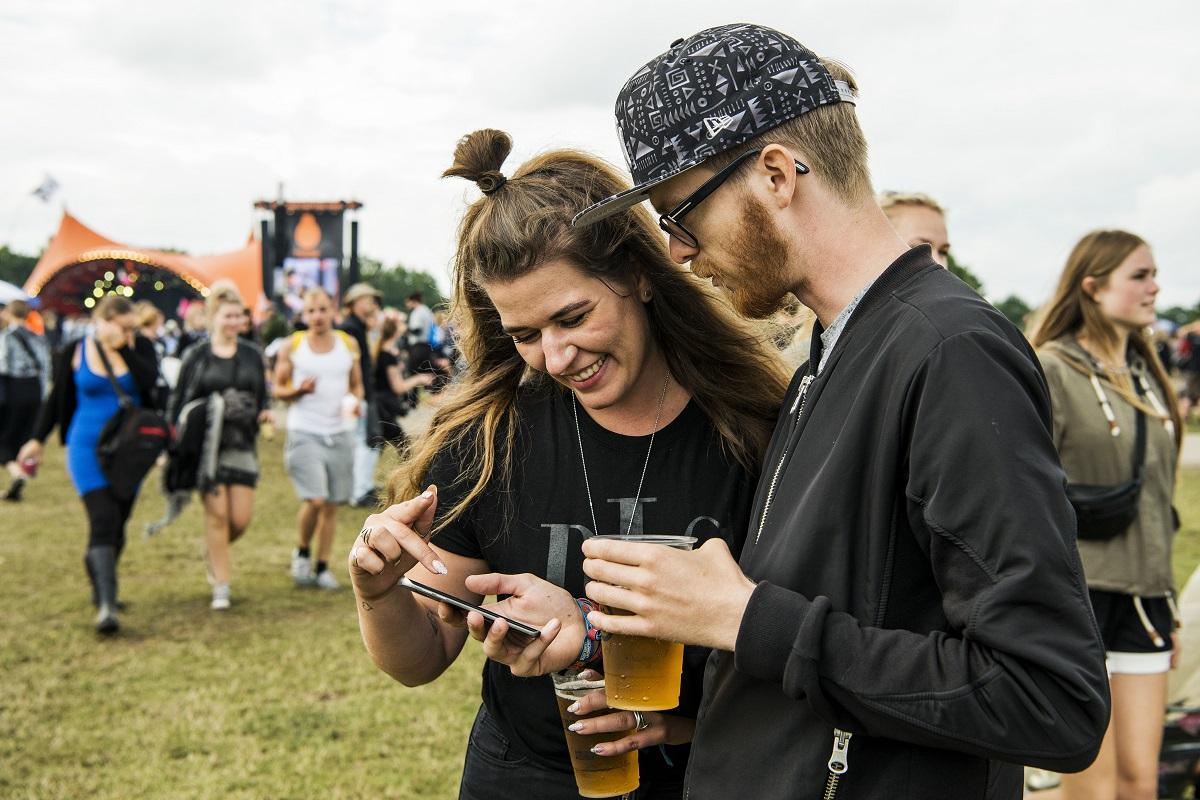 3: Historisk højt dataforbrug på årets Roskilde Festival