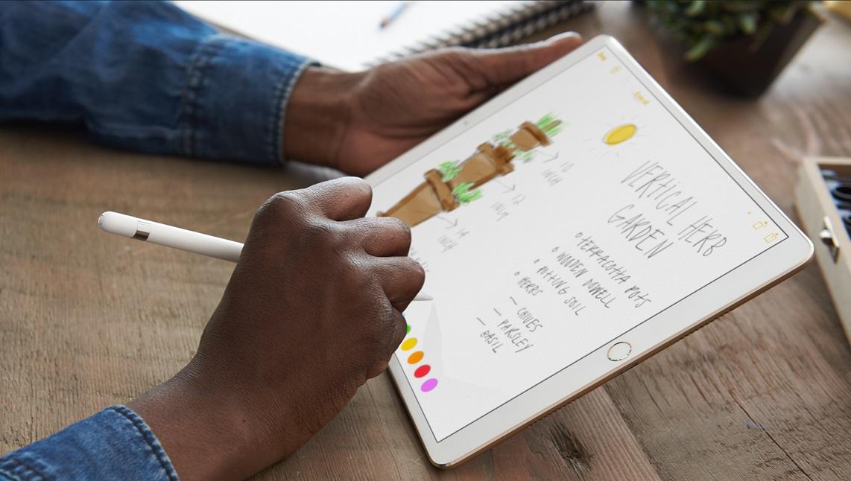 iPad Pro-modeller på 10,5″ og 12,9″