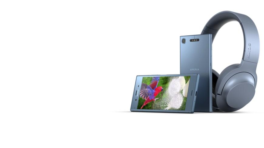 Sony Xperia XZ1 og Xperia XZ1 Compact